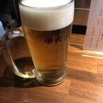串焼き 焼きとん 大国 - ビール(490円外)