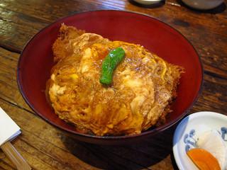 水塩土菜 本店 - カツ丼、1050円