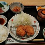 とんかつ家 かつ条 - 料理写真:和食膳1188円