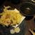 月○海 - 料理写真:ヤリイカの天ぷら(サービス品)