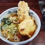やしま - 料理写真:ちくわ天うどん+鶏天。