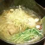 12075651 - 龍旗信ラーメン 煮卵plus
