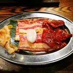 炭火焼肉 金剛園 - お肉 アップ
