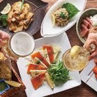 ドリンクは日本酒からカクテルまで多種多様60種類以上ご用意!