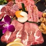 銀山亭プロデュース おおいた和牛ダイニングイマギン - 焼肉セット特上 5,000円