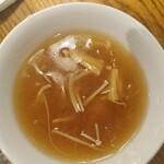 中国郷土料理 錦里 - フカヒレ入り薬膳スープ