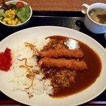 串DINING桜山 - 海老フライカレー