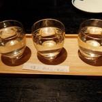120770185 - 唎き酒セット