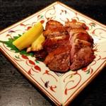 120770198 - 鴨ロース肉の炙り焼き
