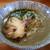 黄昏タンデム - 料理写真:煮干濃いですよ。そばです☆ 2019-1130訪問