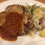 ガスト - 2019/11/30       若鶏のグリル ガーリックソース 439円 クーポン