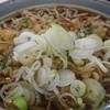 奈良屋 - 料理写真:天ぷらそば大盛り 350円