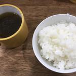 120778402 - スープ・ご飯 (伊賀米)