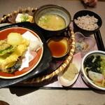 かんざし茶屋 - 涼夏懐石 1080円(期間限定)