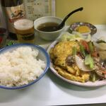 金龍 - 中華定食1100円