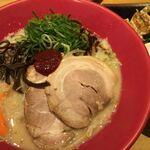 博多 一風堂 - 野菜赤丸 (*´ω`*) ランチセット