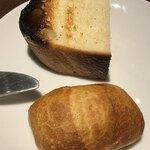 120784194 - 自家製フォカッチャ&全粒粉のパン