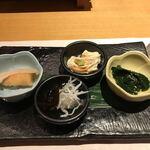 旬菜鮮魚と鍋 味十 - お通し