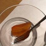 旬菜鮮魚と鍋 味十 - 甘い柿