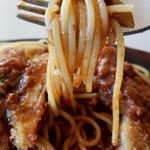 レストラン たんちょう - 釧路名物「スパカツ」