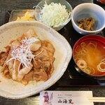 山海里 - 料理写真:福来!豚丼