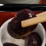 鎌倉御代川 - [料理] 黒豆 アップ♪w ②