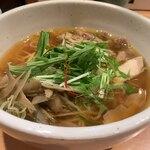 肉そば鶏中華最上川 - 鶏中華そば780円