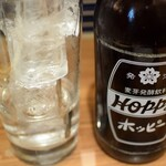 酒場のんき - ホッピー白セット