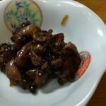 お料理やまもと - 鰻肝の煮こごり