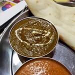 印度キッチン - ほうれん草チキンカレー