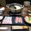 元気家元 とん - 料理写真:塩ちゃんこ、胡麻豆乳