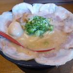 銀麺 - こってりチャーシュー+味たまごトッピング