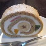 マリアージュ - メープルロールケーキ