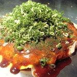うろたんけ - 料理写真:広島王道の【イカ天入り肉玉そばネギかけ】これに限ります!