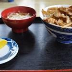 さくら食堂 - 焼肉丼・650円