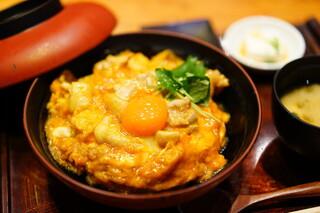 鶏匠 たけはし - 名物親子丼 (¥1,000)