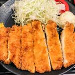 Kushikatsudengana - ジャンボチキンカツ アップ