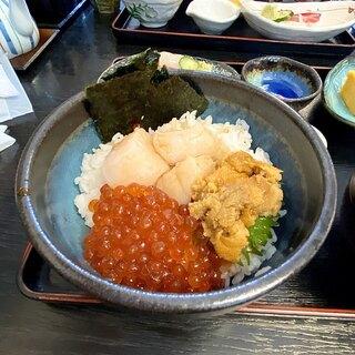 海鮮 まえ浜 - 料理写真:三陸釜石お宝丼