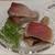 日本料理秀たか - 料理写真:松輪サバ、氷見産メジマグロ