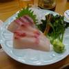 四ツ木製麺所 - 料理写真:カンパチ刺し