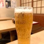 宗村食堂 - 生ビール