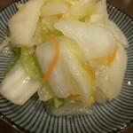 ビール長屋 貫太郎 - 自家製白菜漬
