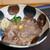 ふる里うどん  - 料理写真:オリーブ牛すき焼き風肉ぶっかけ冷