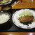 ぐるめらん - 料理写真:白身魚のムニエル(単品)、ライス味噌汁セット