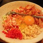 お好み焼和 - 豚玉 キムチ(¥750)
