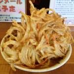 12082712 - 肉天うどん(550円)2012年2月