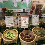 都野菜 賀茂 - 産地と生産者が明記されてます