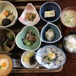 橋本屋 - 山菜定食 つつじ