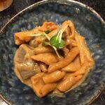 たんぽぽ - 呉の鶏皮味噌煮
