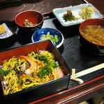 玉田屋旅館 - 料理写真:中馬のおひなさん限定?メニュー